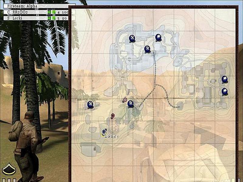 Screenshot af Return to Castle Wolfenstein: Enemy Territory