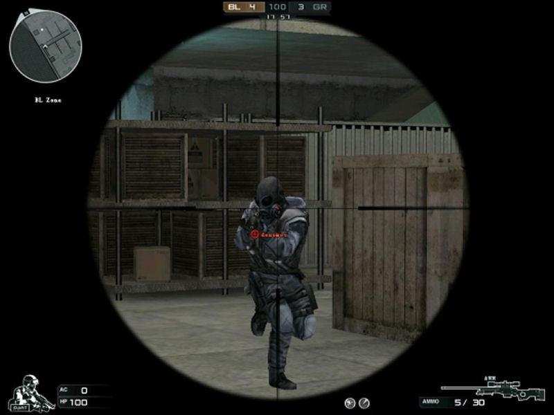 Screenshot af CrimeCraft