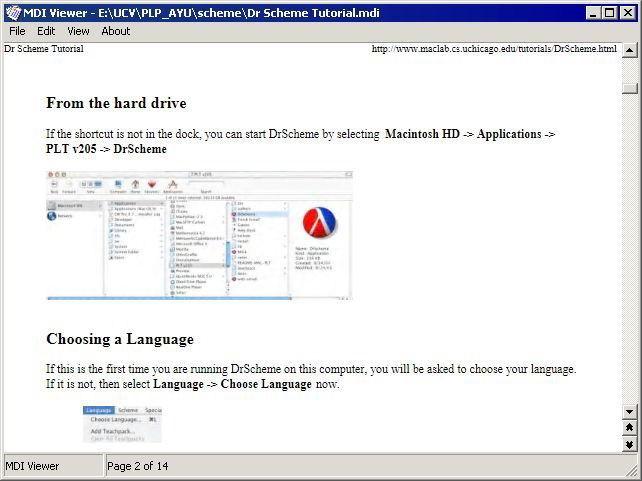 Screenshot af MDI Viewer for Microsoft Office