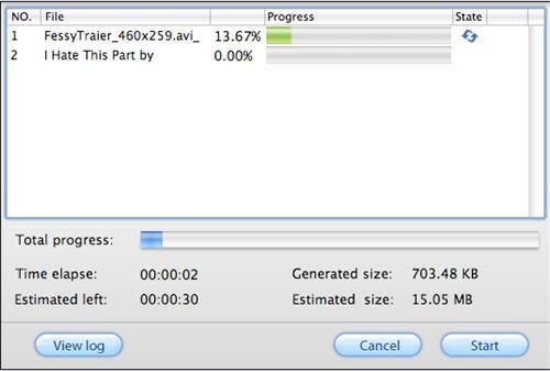 Screenshot af Pavtube HD Video Converter