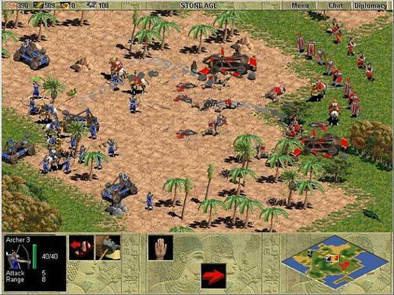 Screenshot af Age of Empires