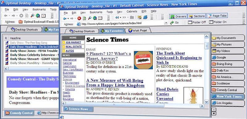 Screenshot af Optimal Desktop