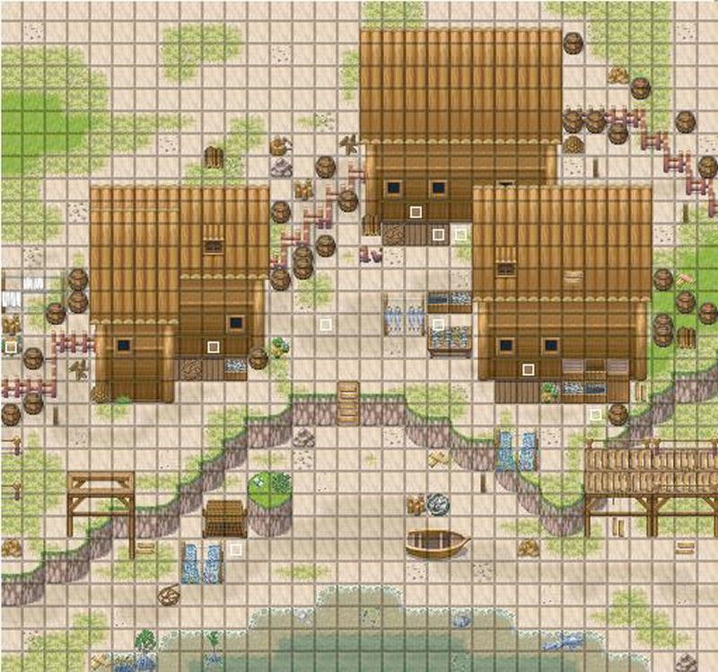 Screenshot af RPG Maker XP