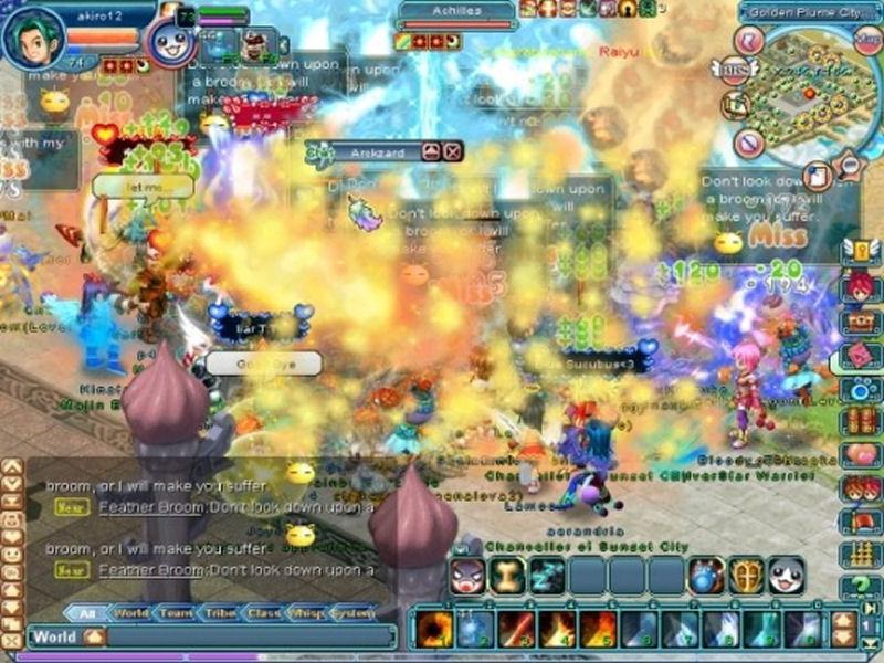 Screenshot af Destiny Online