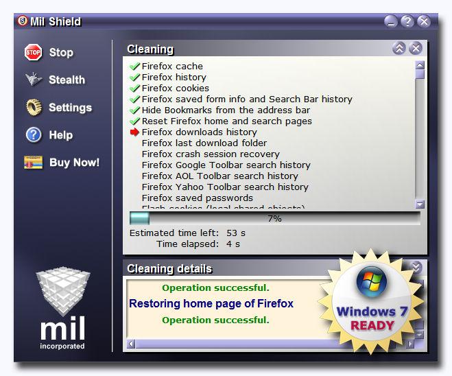 Screenshot af Mil Shield