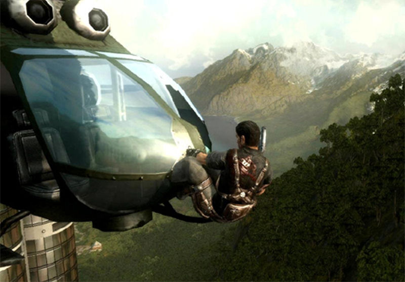 Screenshot af Just Cause 2