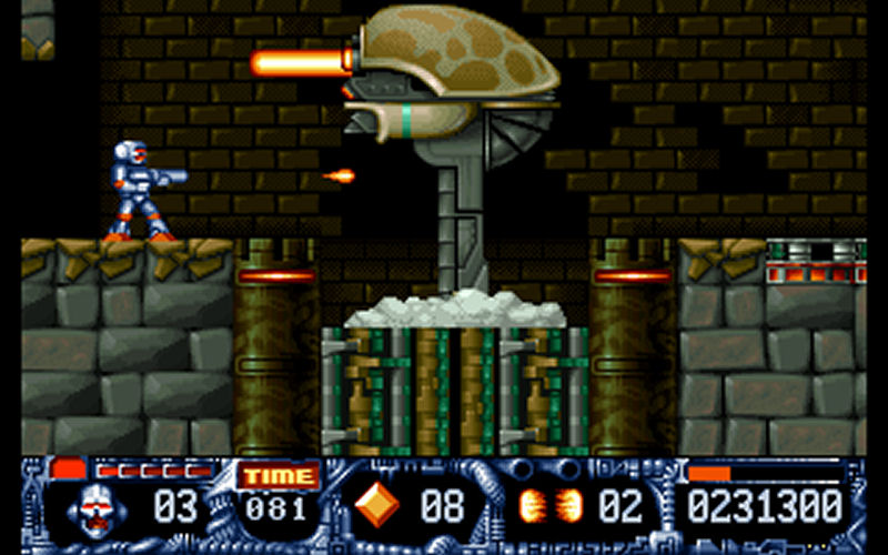 Screenshot af Turrican II - The Final Fight