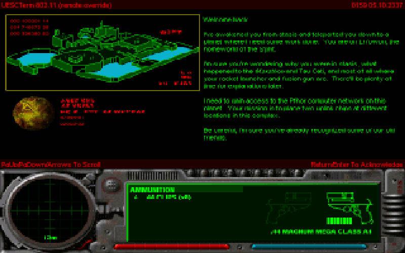 Screenshot af Marathon 2 - Durandal