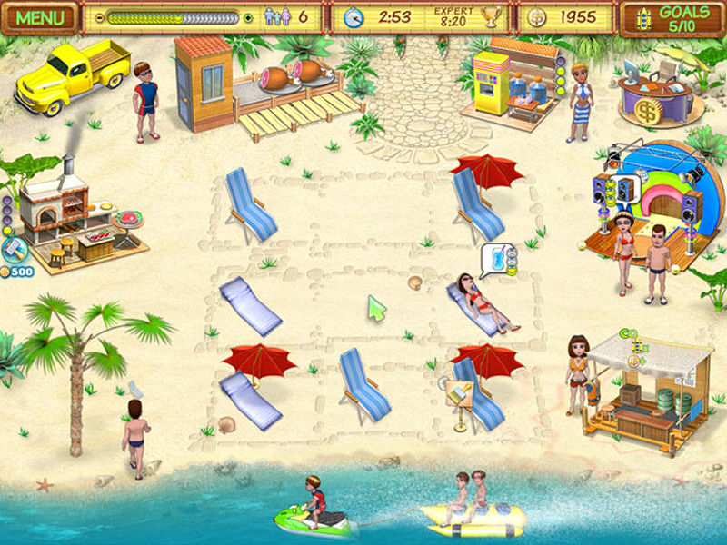 Screenshot af Beach Party Craze