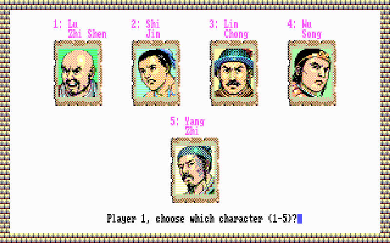 Screenshot af Bandit Kings of Ancient China