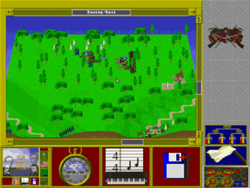 Screenshot af The Civil War