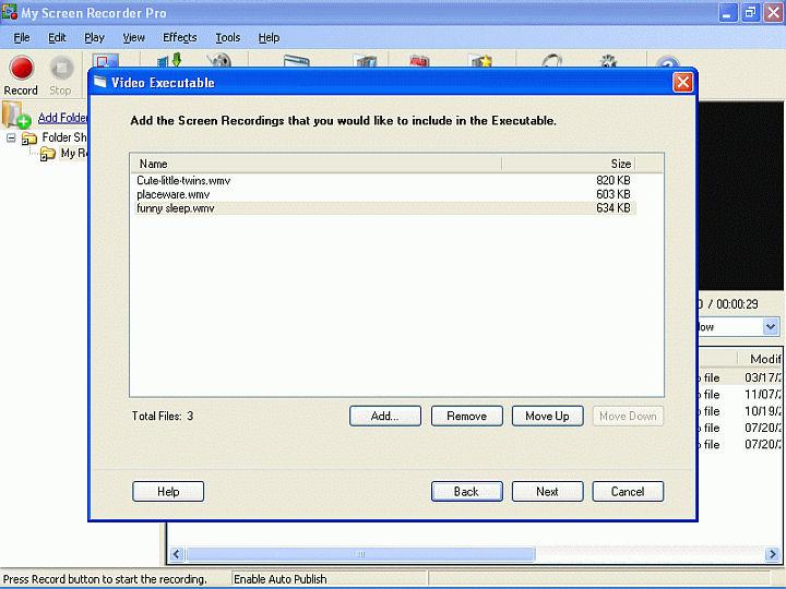 Screenshot af My Screen Recorder Pro