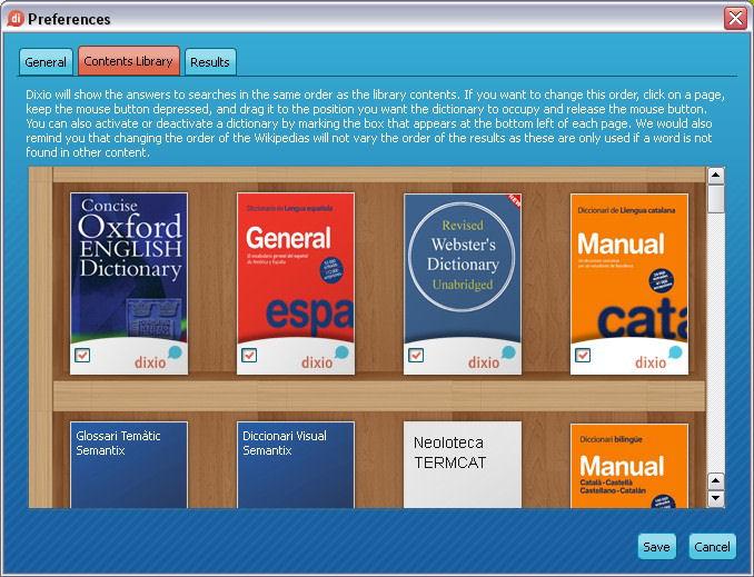 Screenshot af Dixio Desktop
