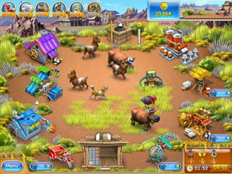 Screenshot af Farm Frenzy 3: American Pie