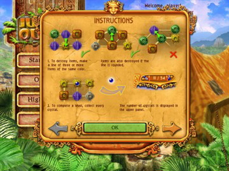 Screenshot af Jungle Quest