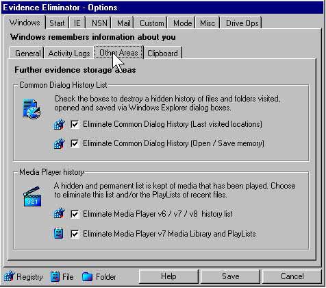Screenshot af Evidence Eliminator Free Trial