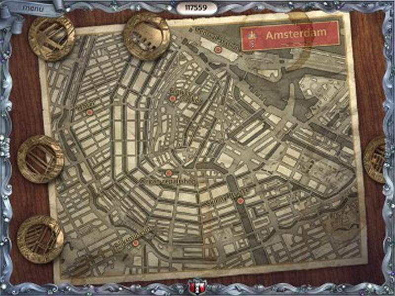 Screenshot af Youda Legend The Curse of the Amsterdam Diamond
