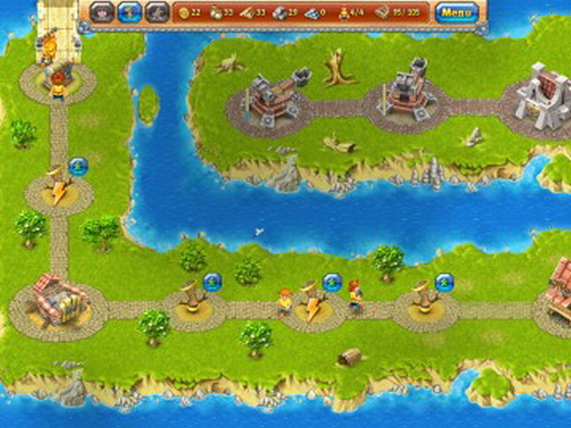 Screenshot af Island Realms