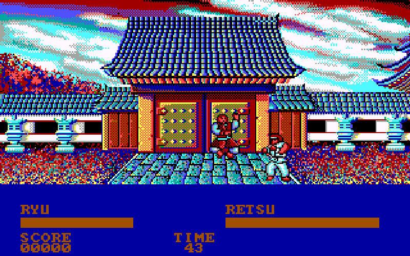 Screenshot af Street Fighter