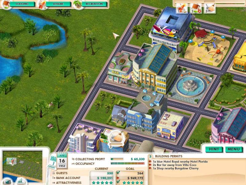Screenshot af Build It! Miami Beach Resort