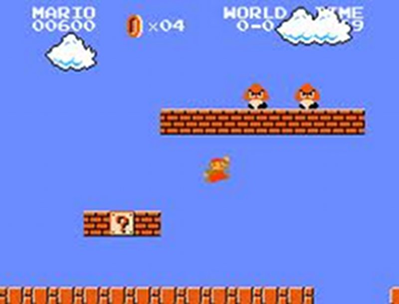 Screenshot af Super Mario