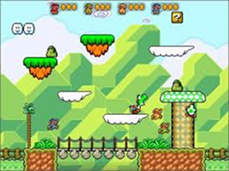 Screenshot af Super Mario
