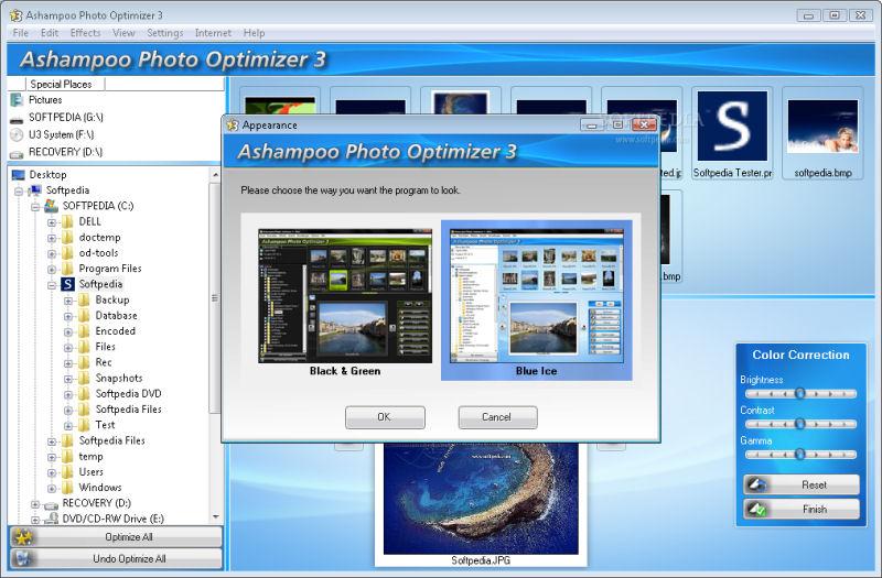 Screenshot af Ashampoo Photo Optimizer