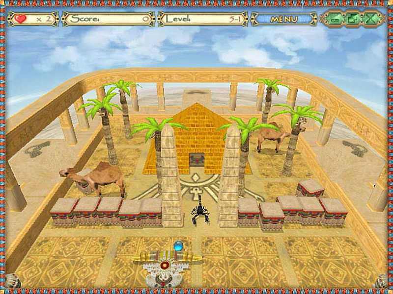 Screenshot af Egyptian Ball