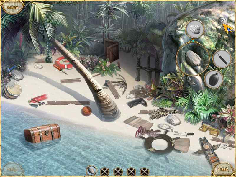 Screenshot af Escape from Lost Island