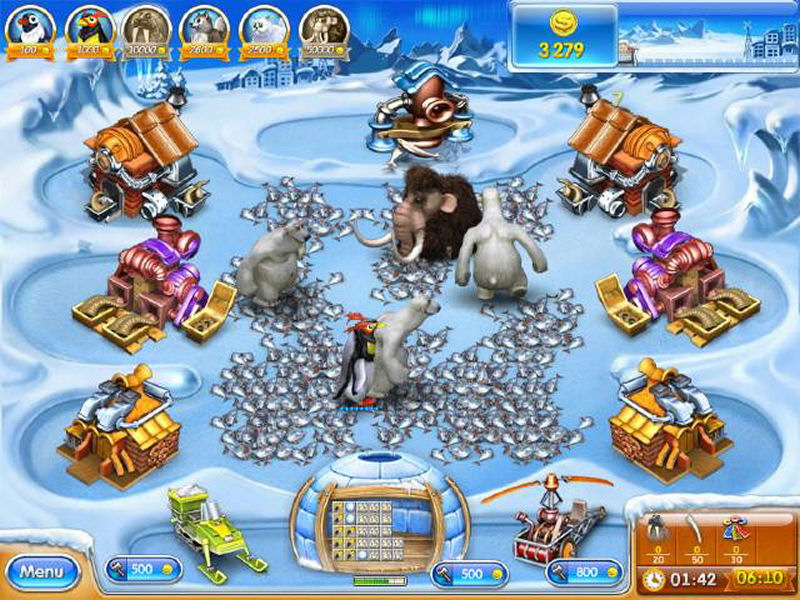 Screenshot af Farm Frenzy 3 - Ice Age