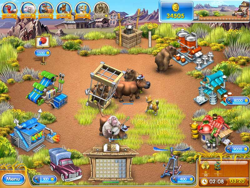 Screenshot af Farm Frenzy 3 - Russian Roulette