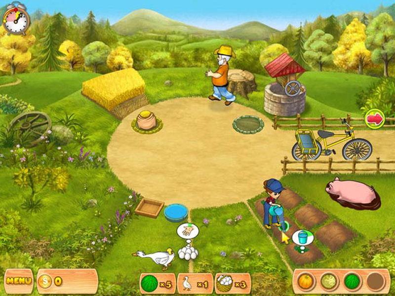 Screenshot af Farm Mania