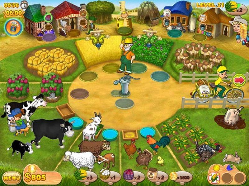 Screenshot af Farm Mania 2