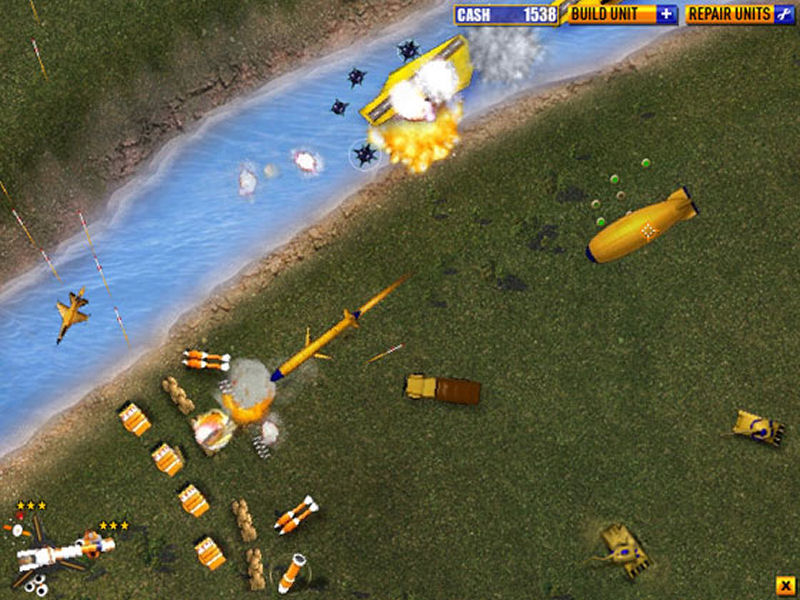 Screenshot af Final Fortress