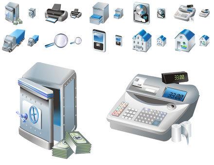 Screenshot af Free Large Business Icons