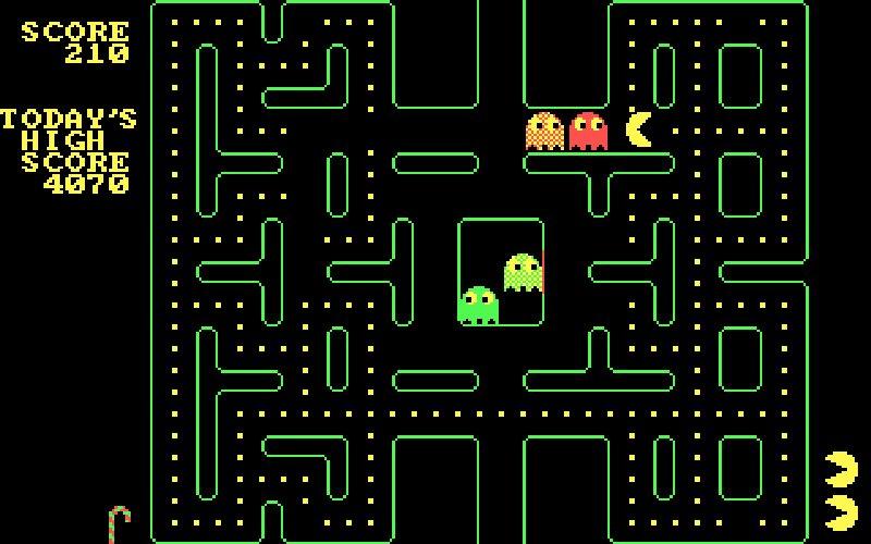 Screenshot af Pacman