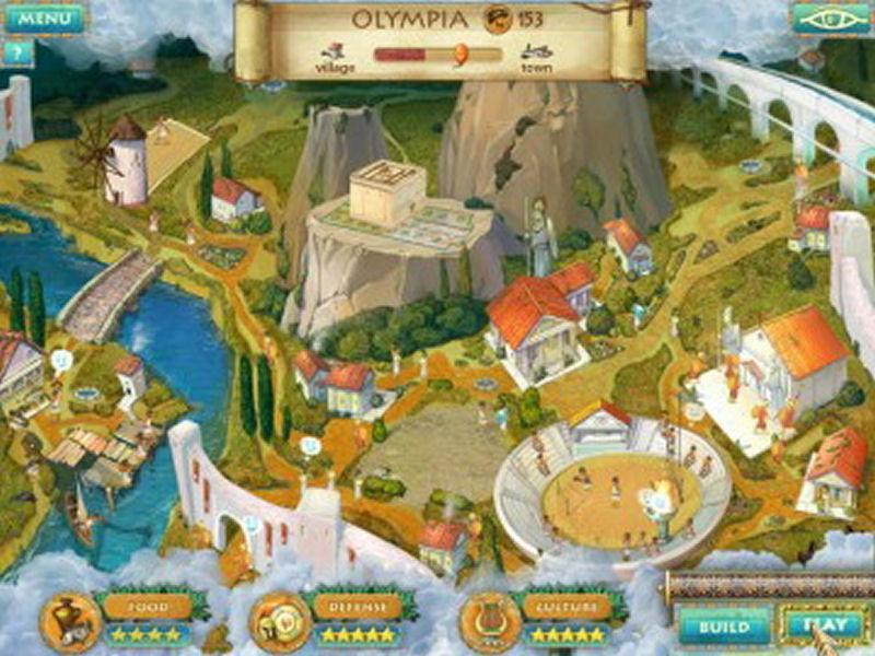Screenshot af Heroes of Hellas 2: Olympia