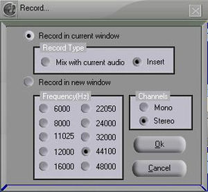 Screenshot af Audio Editor