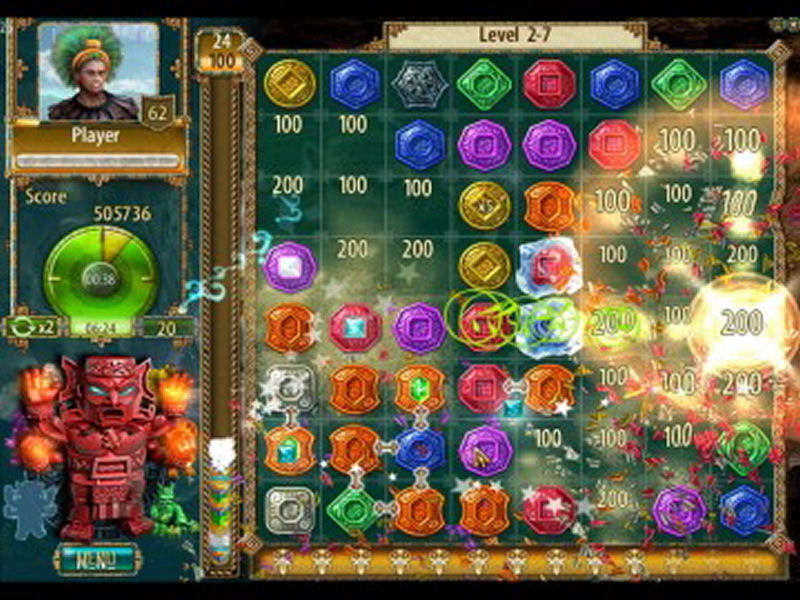 Screenshot af The Treasures of Montezuma 2