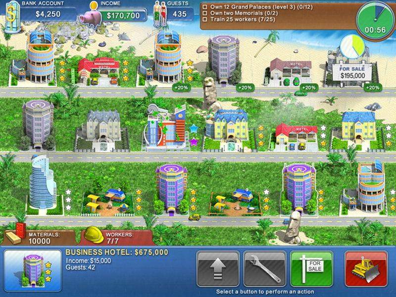 Screenshot af Hotel Mogul