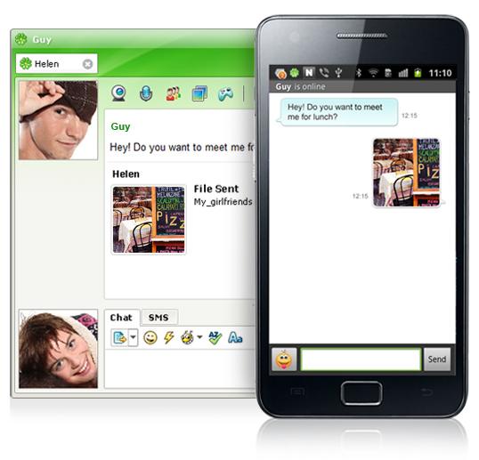 Screenshot af ICQ