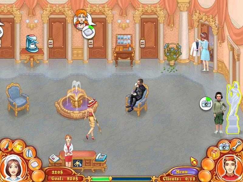 Screenshot af Janes Hotel: Family Hero
