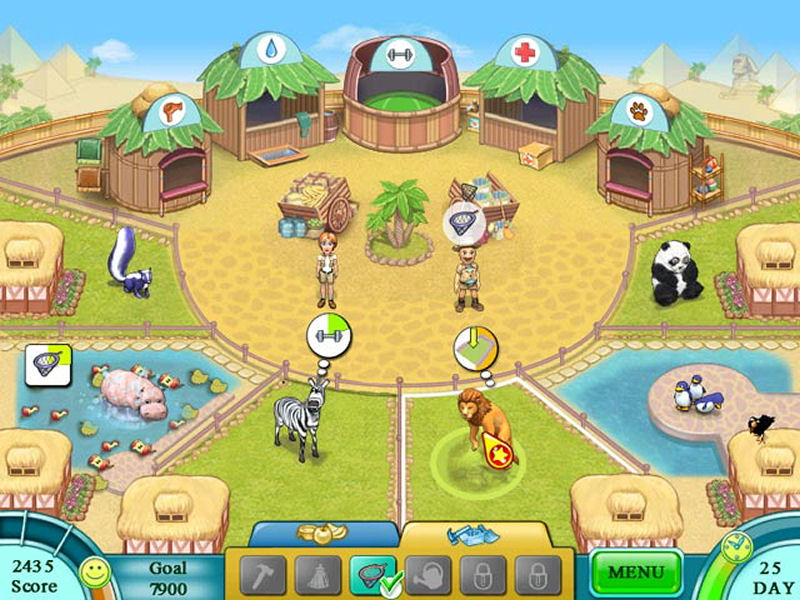 Screenshot af Janes Zoo