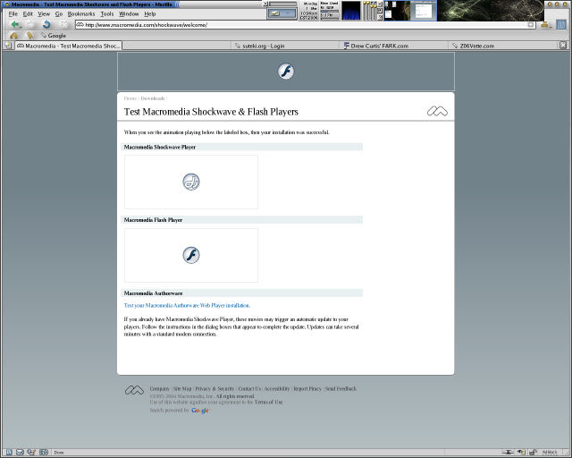 Screenshot af Flashblock