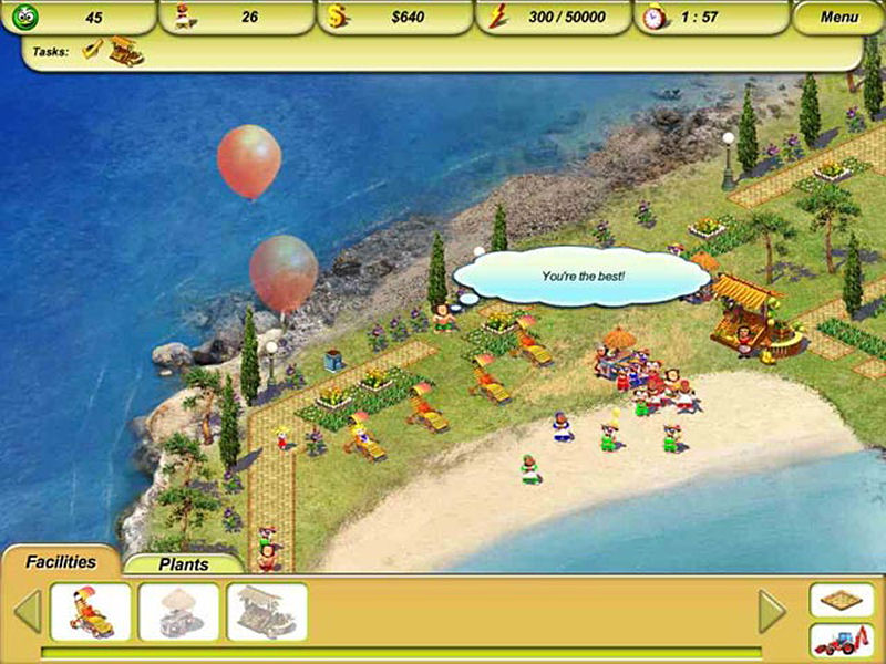 Screenshot af Paradise Beach 2