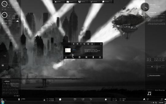 Screenshot af Rainmeter (32bit)