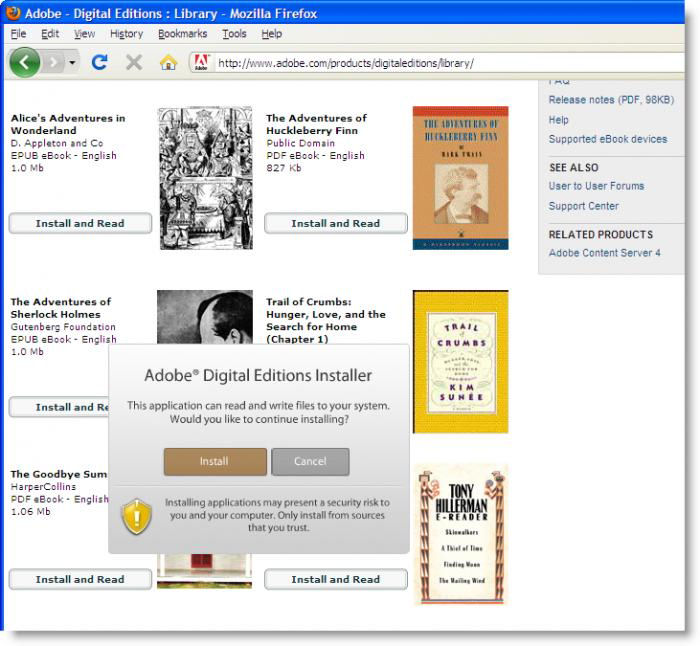 what is the difference between adobe epub and pdf