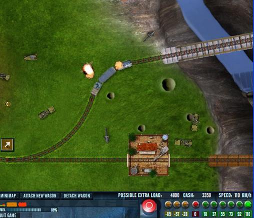 Screenshot af Rail of War