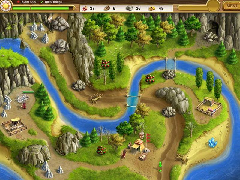 Screenshot af Roads of Rome