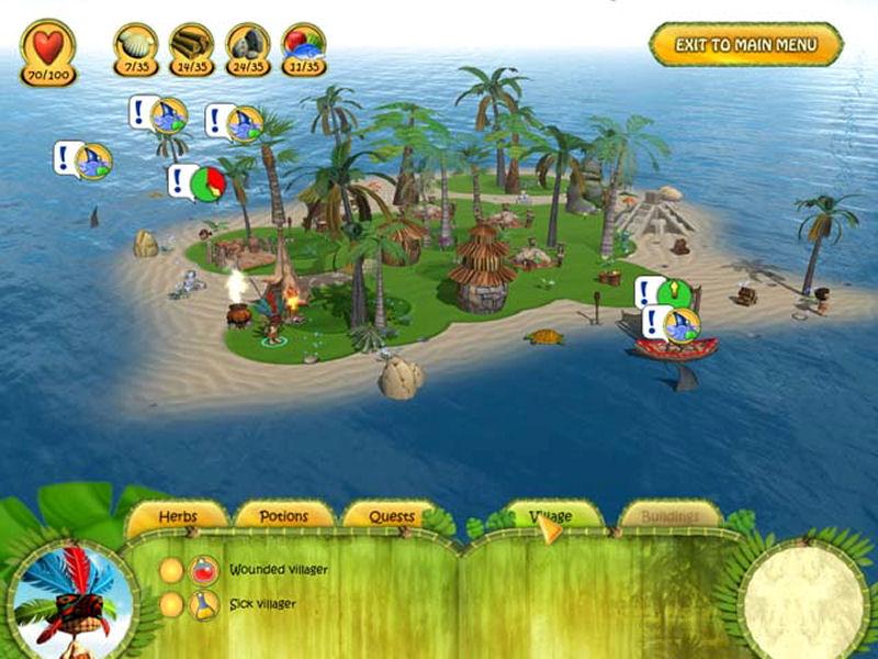 Screenshot af Shaman Odyssey: Tropic Adventure